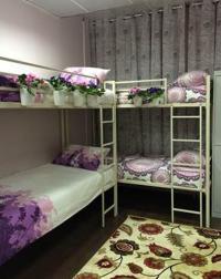 Одноместное размещение в 10 местной комнате для женщин